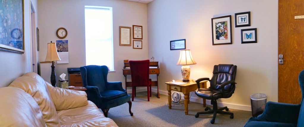 Inside view of Courage Counseling business
